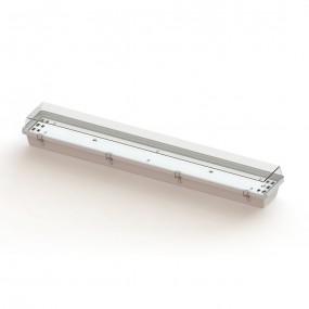 Luminária Hermética com corpo em fibra de vidro