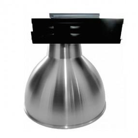Luminária Industrial em Alumínio 450mm aloj. caixa preta