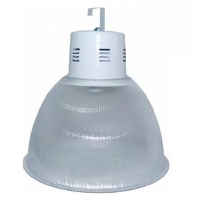 """Luminária Prismática 22"""" com alojamento balde"""
