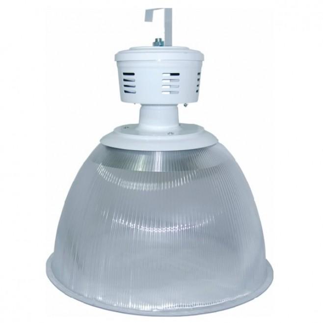 """Luminária Prismática 22"""" com alojamento taça"""